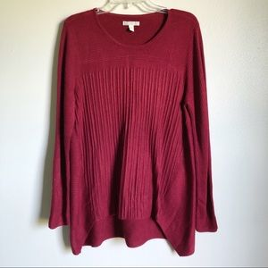 Dana Buchman | maroon sweater